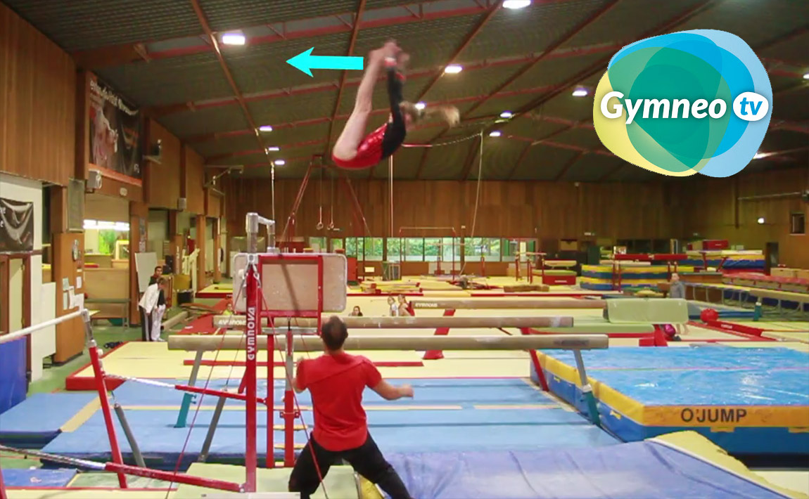 Gymnastics drills - Gymneo, the Jaeger salto