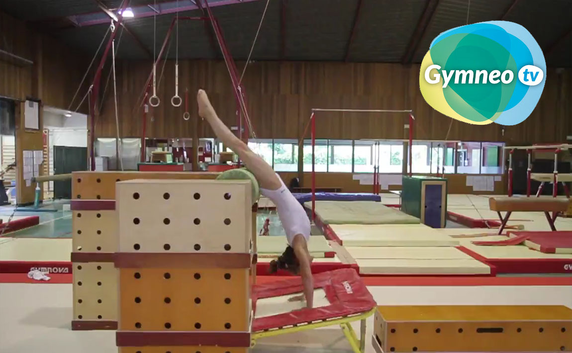 Gymnastics drills - Gymneo, Yurchenko Vault, Part Two