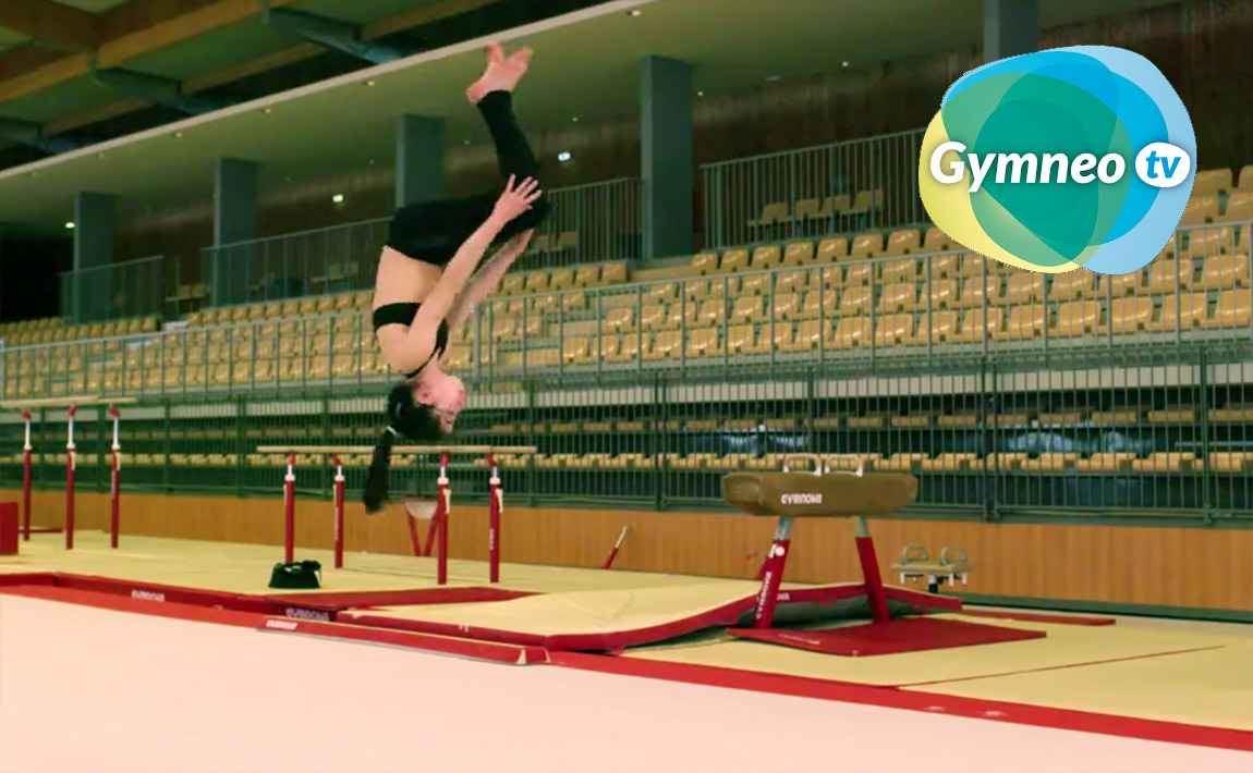 Gymnastics drills - Gymneo, Back tuck
