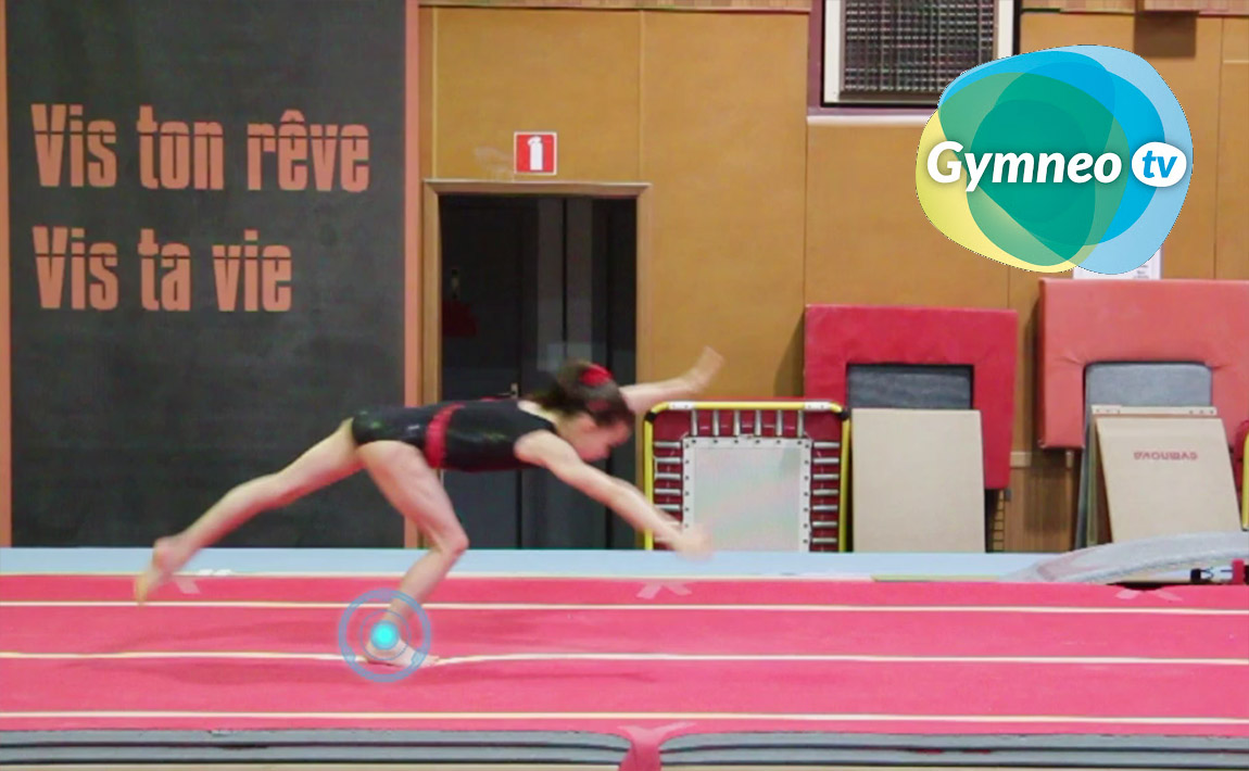 Gymnastics drills - Gymneo, Round-off