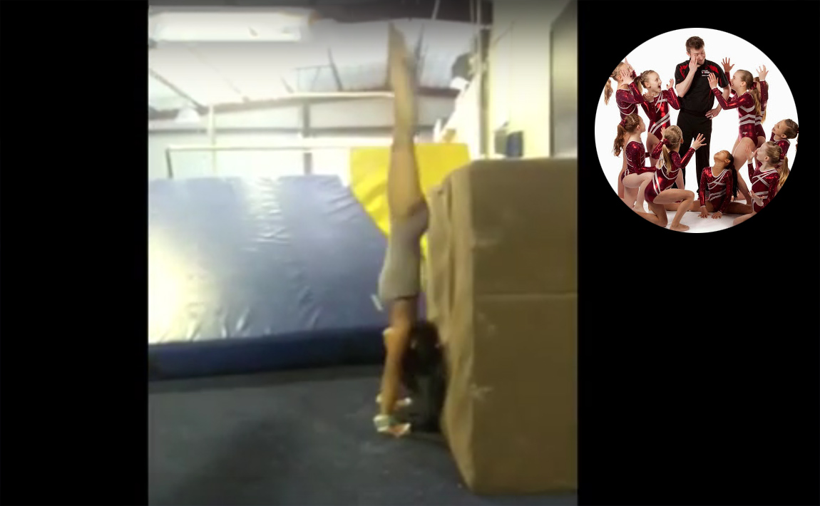 Gymnastics drills - GymTactics, cast to handstand drills