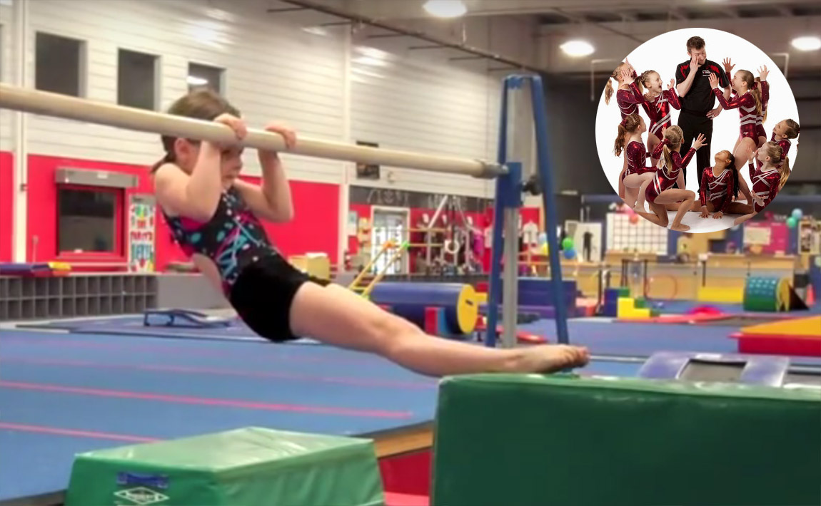 Gymnastics conditioning - GymTactics, chin-up pull-over