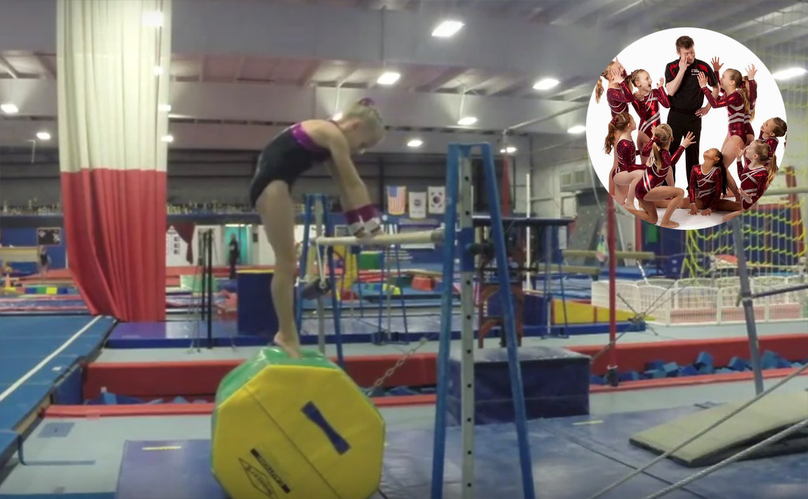 Gymnastics drills - GymTactics, clear hip circles