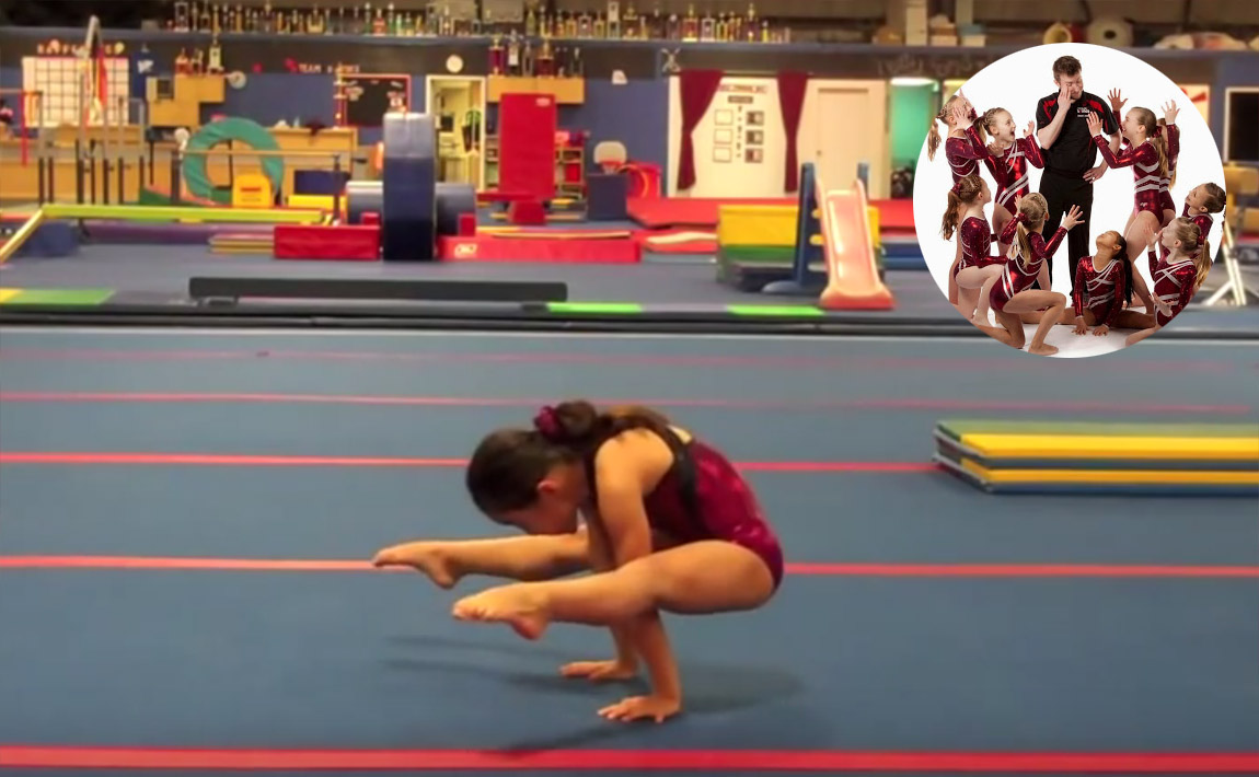 Gymnastics drills - GymTactics, press to handstand