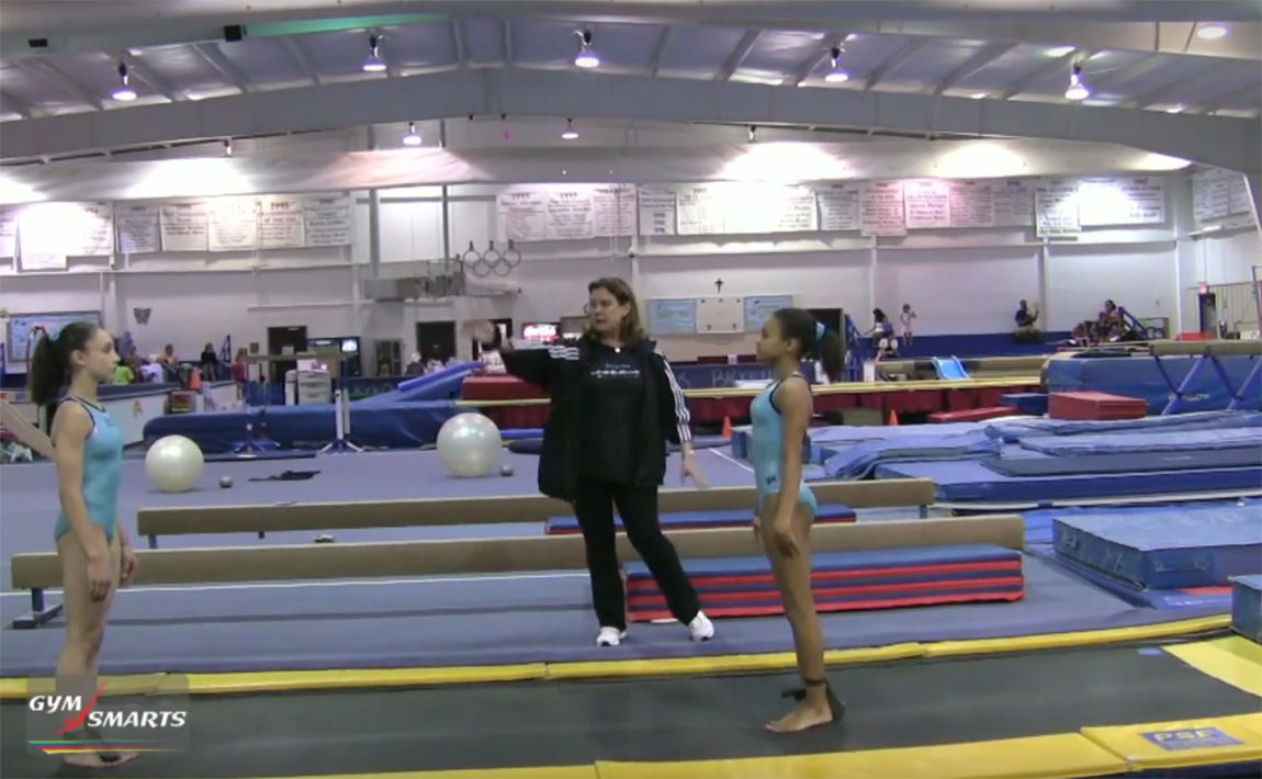 Gymnastics drills - Biggs, ballistic kicking