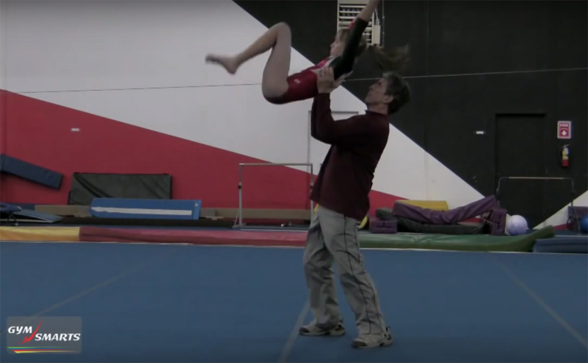 Gymnastics drills - Connelly, back tuck