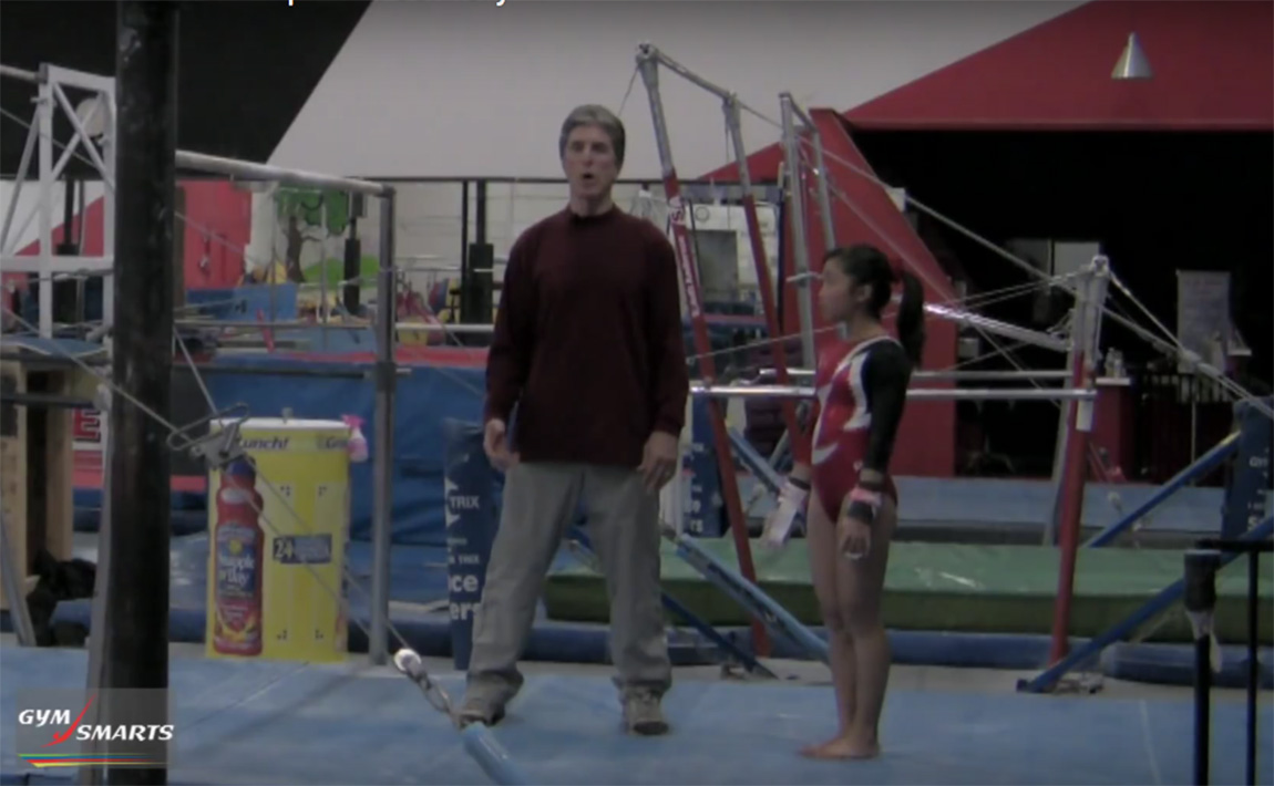 Gymnastics drills - Connelly, kip