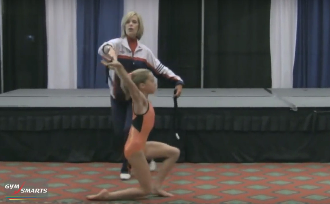 Gymnastics drills - Culp, dance level change