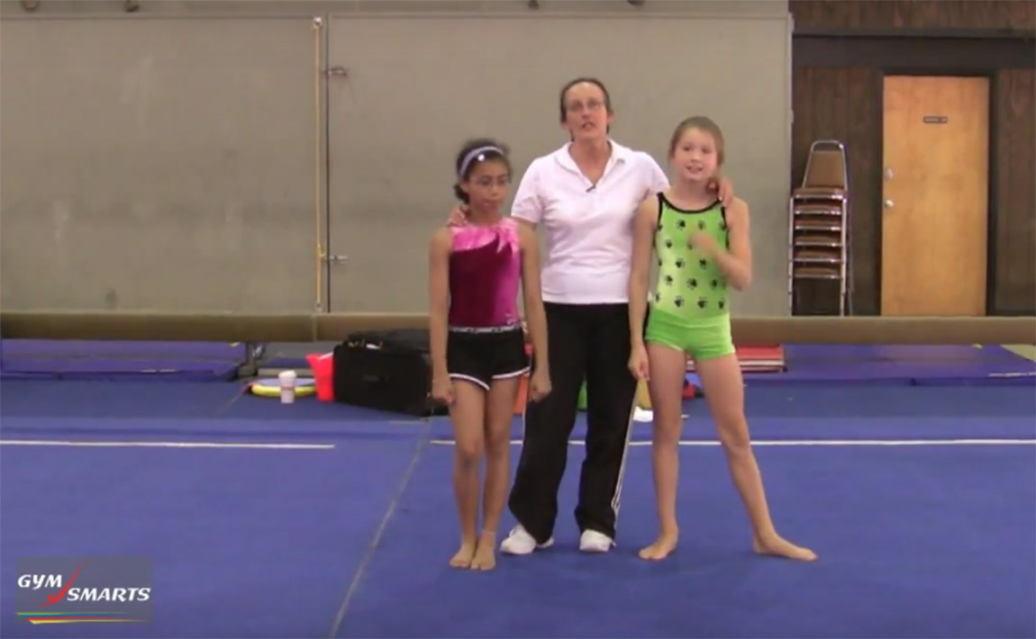 Gymnastics drills - Gardner, safety falls