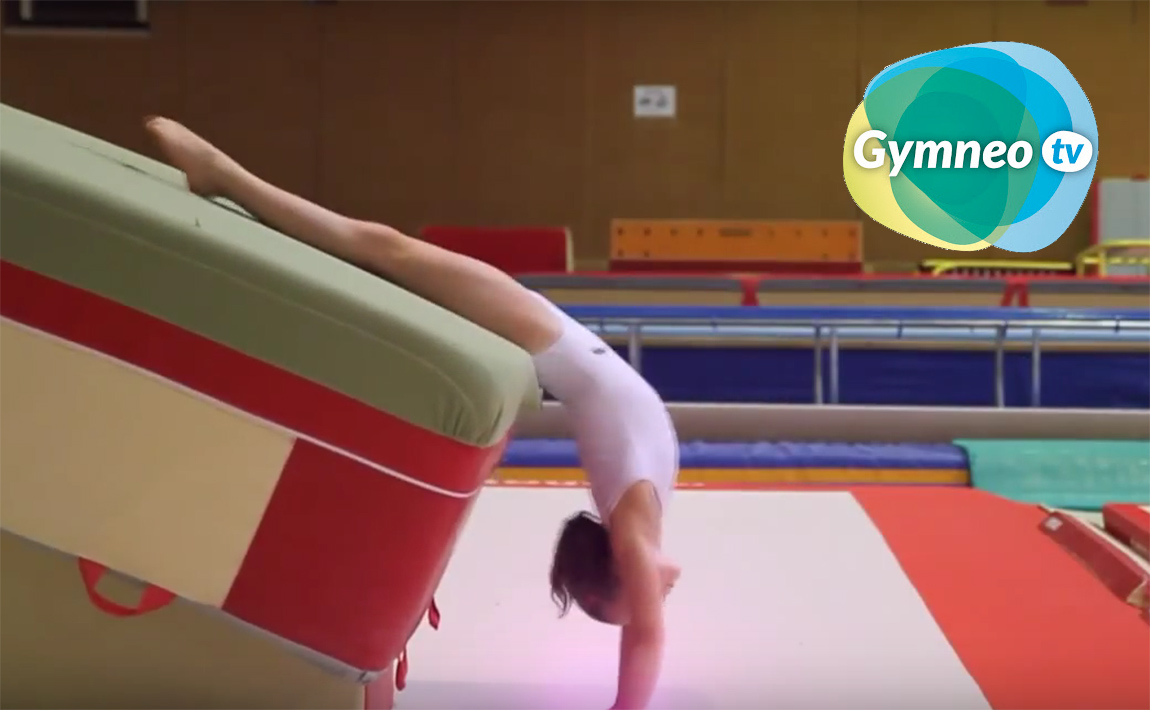 Gymnastics drills - Gymneo, Back walkover