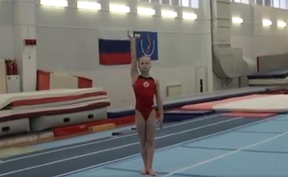 Gymnastics drills - handstand complex for uneven bars