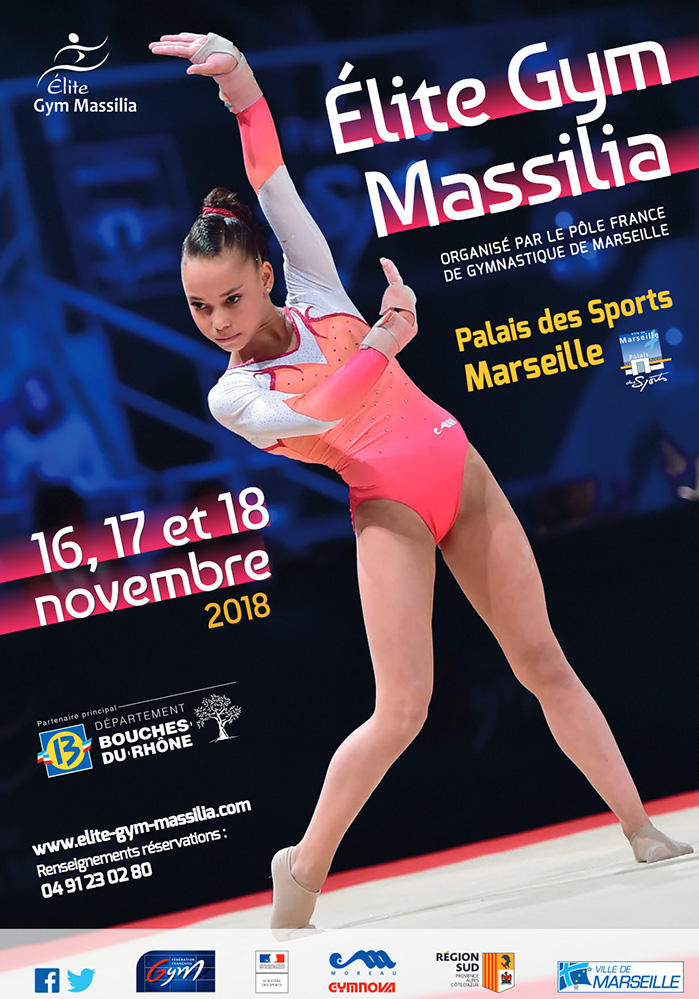 Elite Gym Massilia 2018 | Tournoi international de Gymnastique