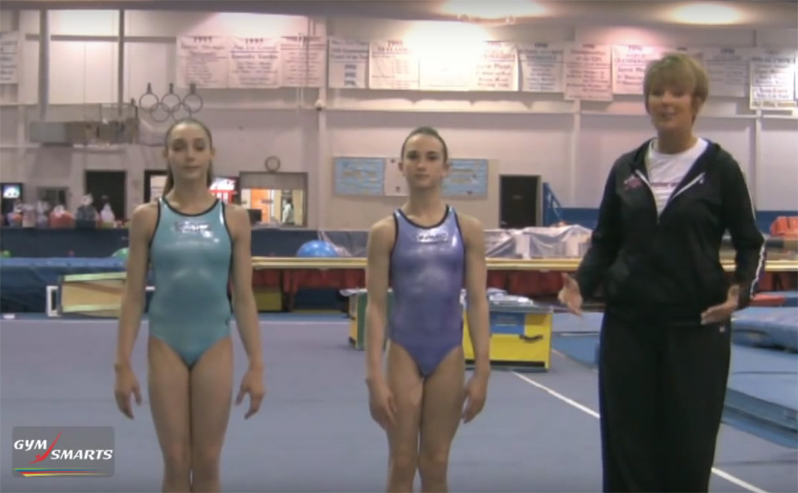 Gymnastics drills - Mary Lee Tracy, mental preparation for choreography