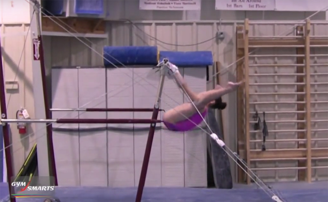 Gymnastics drills - Mary Lee Tracy, strong stalders