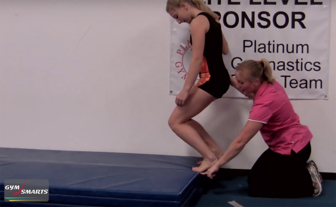Gymnastics drills - Brandi Smith Young, soleus muscle exercises