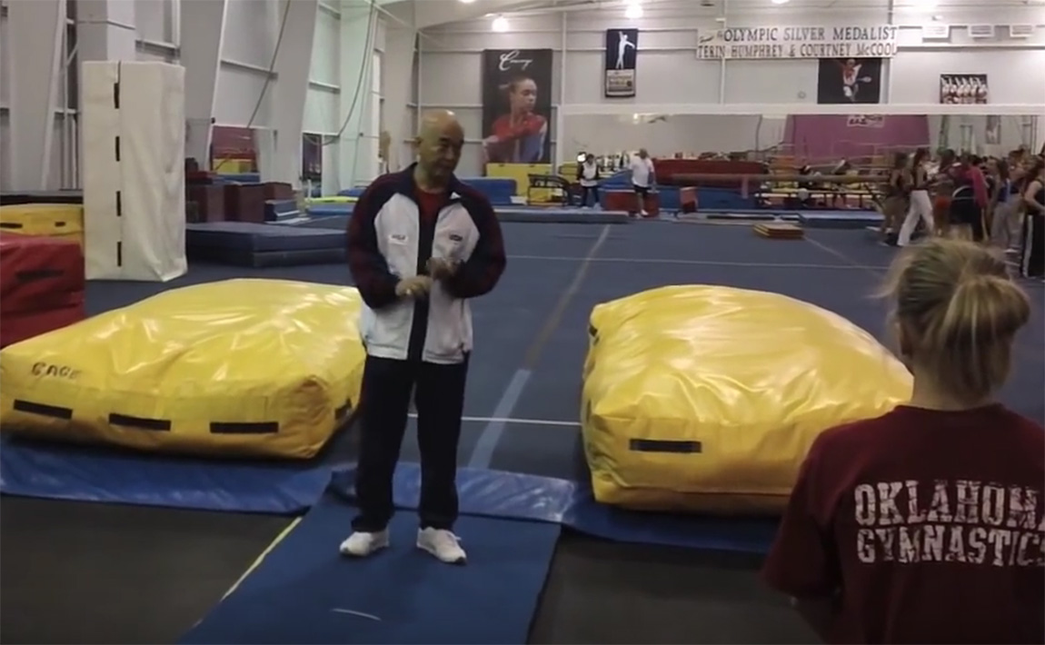 Gymnastics drills - Al Fong, Beginning Trampoline Part 1