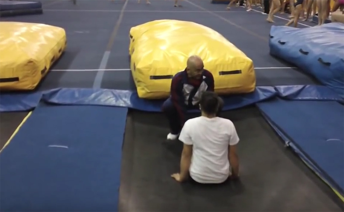 Gymnastics drills - Al Fong, Beginning Trampoline Part 2