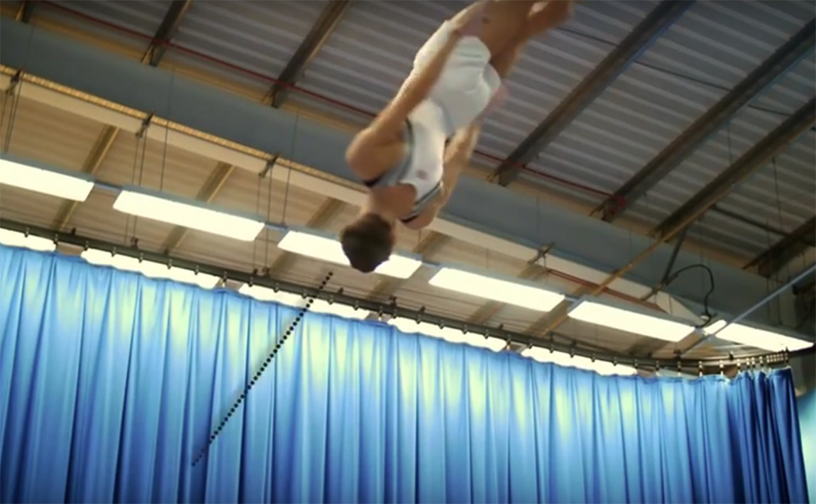 Gymnastics drills - British Gymnastics, Rudi