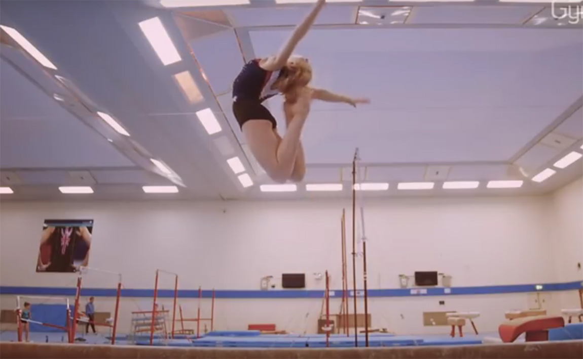 Gymnastics drills - British Gymnastics, sheep jump