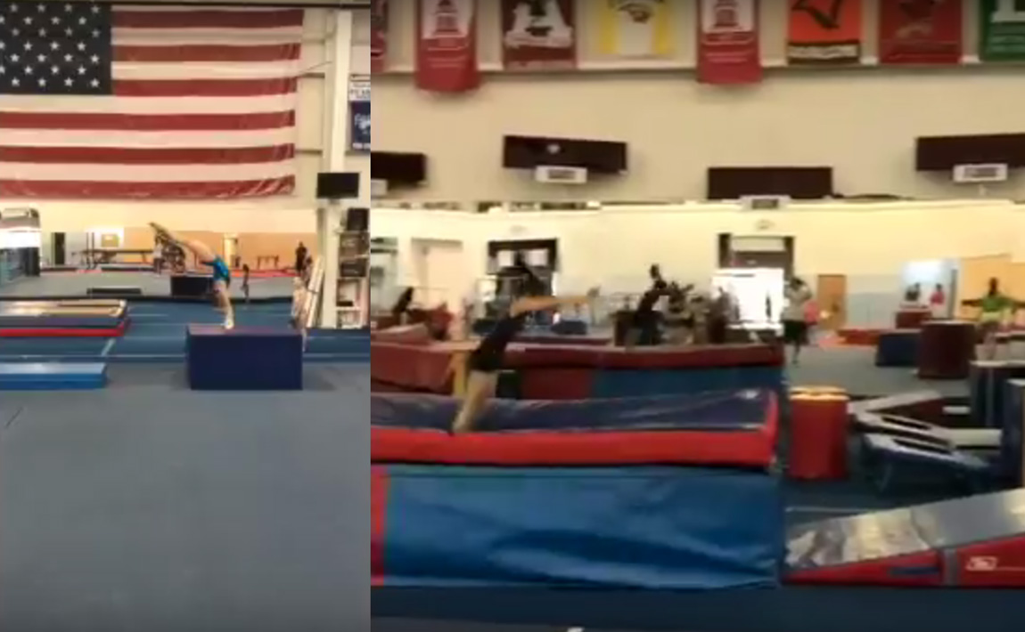 Gymnastics drills - Ramirez, Yurchenko drills
