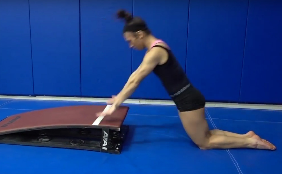 Gymnastics drills - SHIFT, Upper Body Power