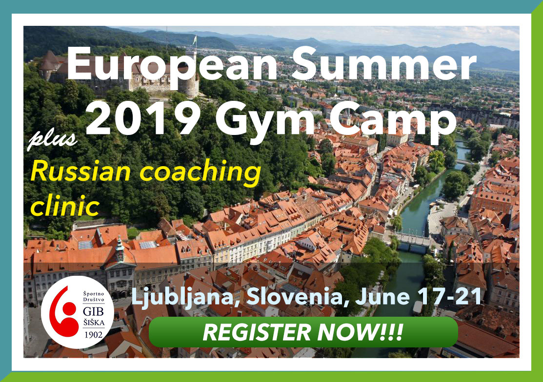 European Gymnastics Summer Camp 2019