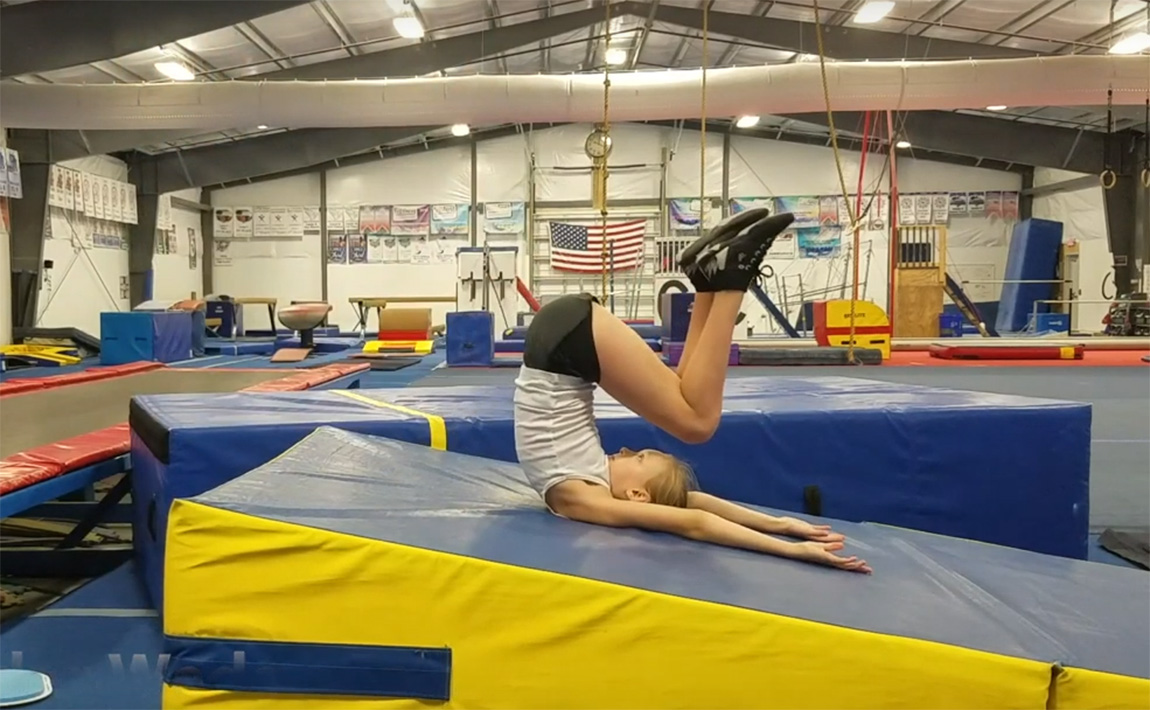 Gymnastics Drills - Shaping Back Tucks