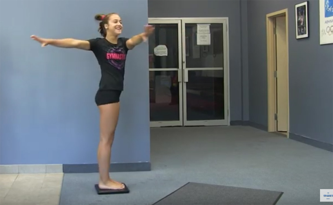 Gymsymbol skills and drills - twisting mechanics