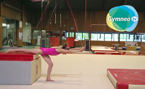 Gymnastics drills - Gymneo, Cartwheel for floor exercise