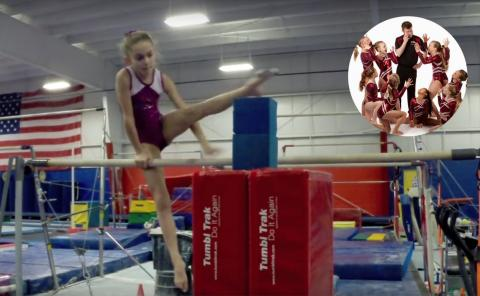 Gymnastics drills - GymTactics, leg cuts, shoot throughs