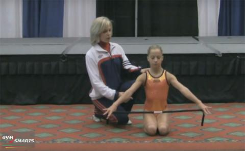 Gymnastics drills - Culp, upper body position