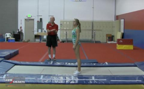 Gymnastics drills - George Hery, Cody