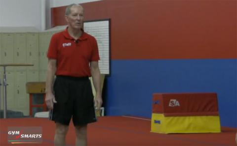 Gymnastics drills - George Hery, front twisting