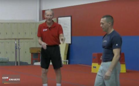 Gymnastics drills - George Hery, front and back kaboom