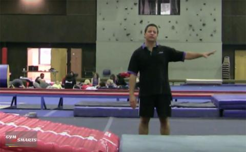 Gymnastics drills - Retrosi, front tumbling drills
