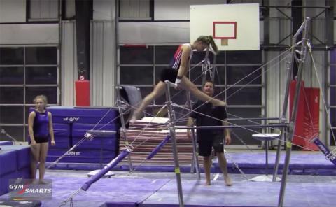 Gymnastics drills - Retrosi, more kip drills