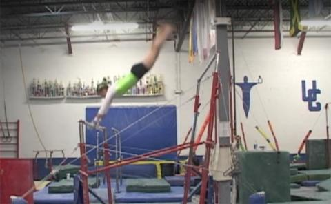 Gymnastics drills - Langley, Pak salto