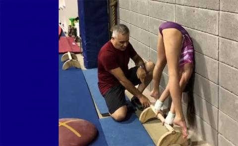 Gymnastics drills - Excalibur, conditioning for the Stalder