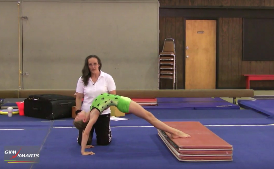 Gymnastics drills - Gardner, safe bridge