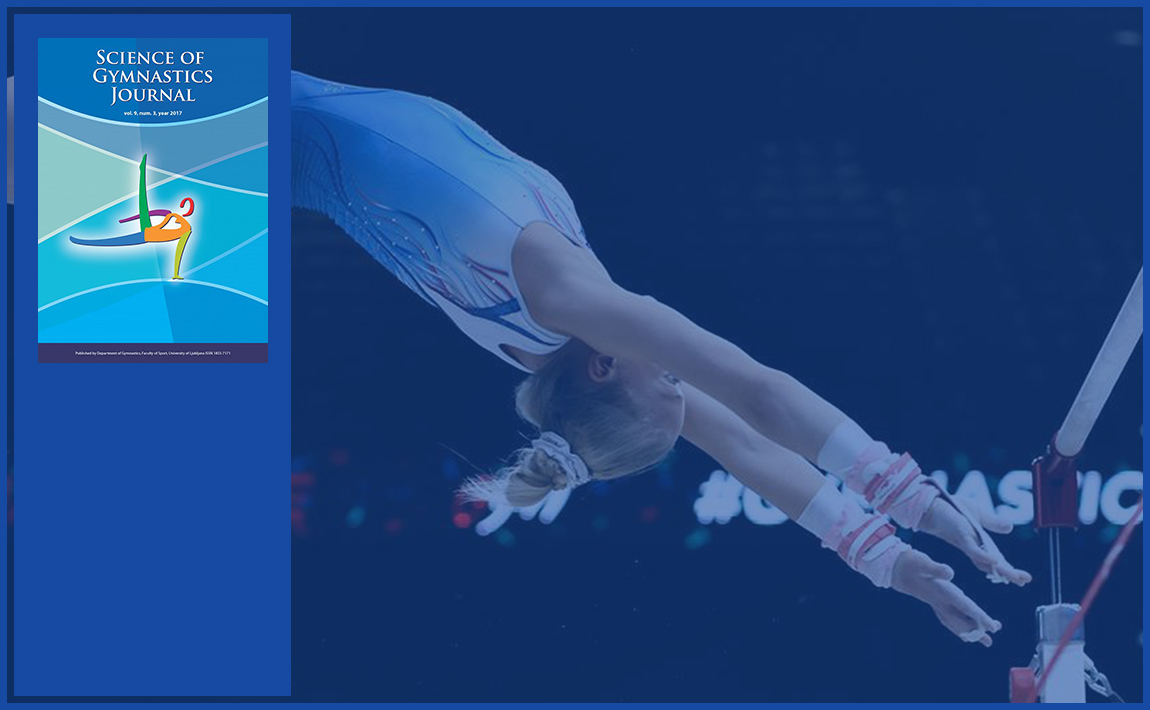 Gymnastics drills - A Case Study About Differences In Characteristics Of The Run-Up Approach On The Vault Between Top-Class And Middle-Class Gymnasts